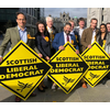 Alison Smith is joined by other LibDem candidates in Aberdeen 2019